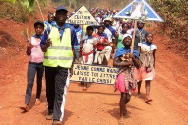 Pielgrzymka młodzieży na misjach