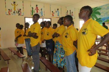 Młodzież na misji Nguelemendouka