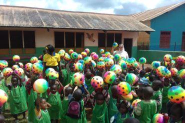 Święto Patronalne szkoły na misji w Kamerunie