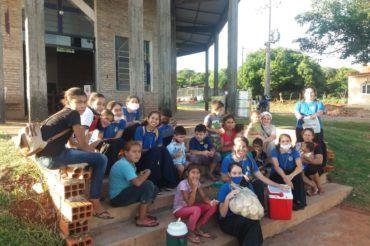 Na misjach w Paragwaju – wraz ze św.  Michałem Archaniołem i Bł. Ks. B. Markiewiczem