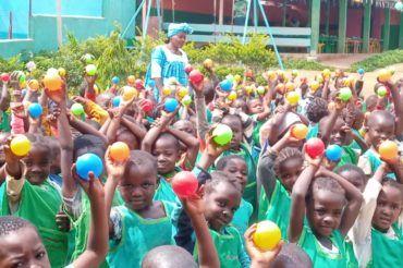 Święto Młodości 2021 na misji Nguelemendouka