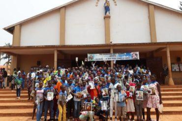 Pielgrzymka młodzieży w Kamerunie 2021