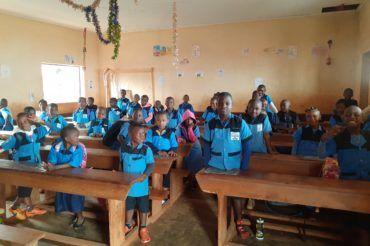 Nowy rok szkolny 2021 w Kamerunie na misji Balengou
