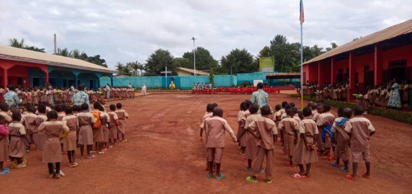 Święto patronalne szkoły na misji w Nguelemendouka