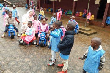 Nowy rok szkolny w Balengou