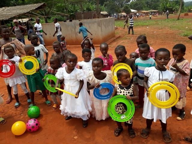 Kolonie wakacyjne w Kamerunie