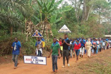 Pielgrzymka młodzieży – Nguelemendouka