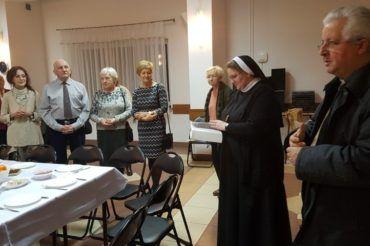Opłatkowe spotkanie Przyjaciół Misji w Wołominie