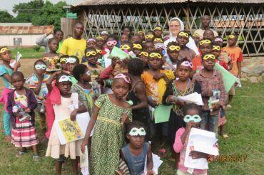 Wakacyjna kolonia na misji Betare-Oya w Kamerunie